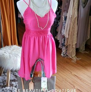 Dresses & Skirts - Hot Pink Tank Dress